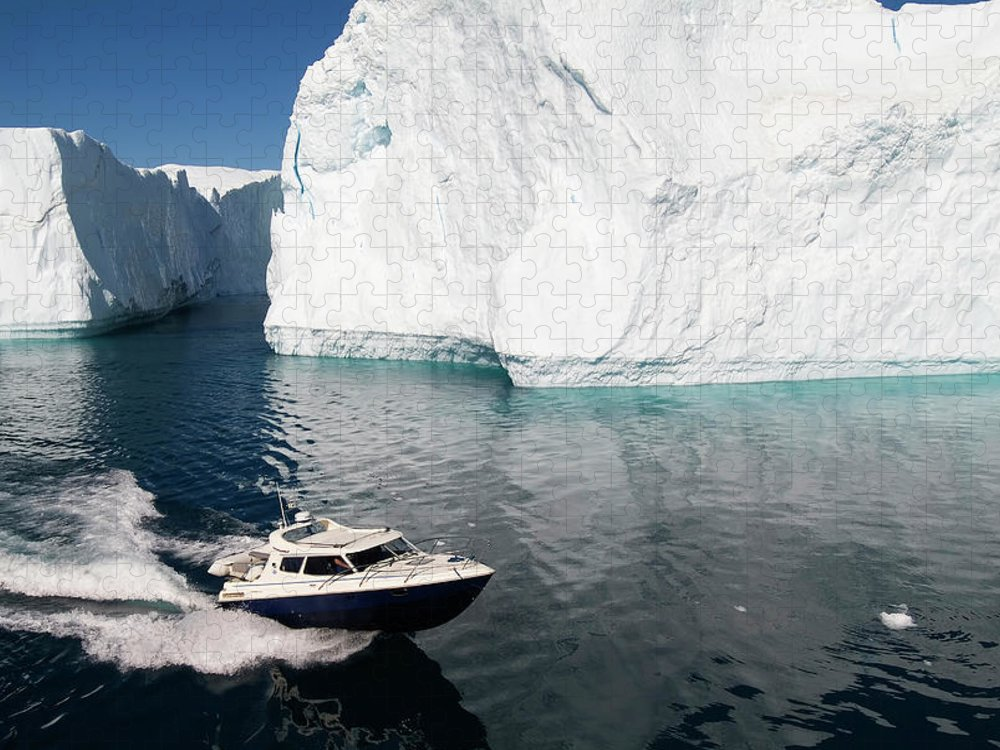 Scenics Puzzle featuring the photograph Ilulissat, Disko Bay by Gabrielle Therin-weise