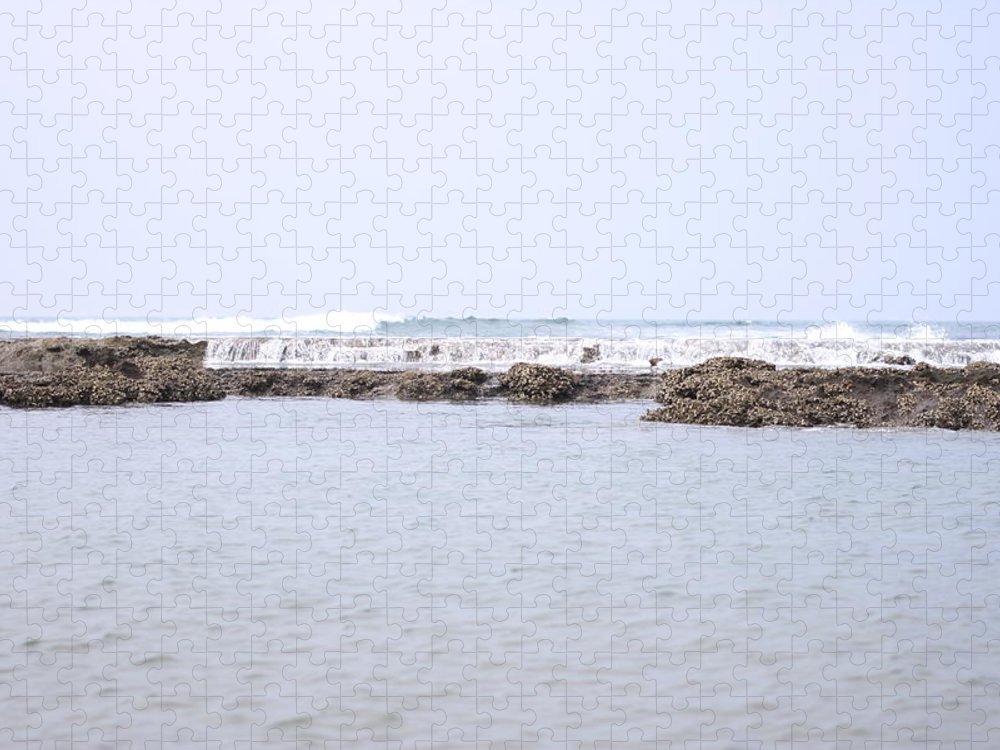 Scenics Puzzle featuring the photograph Indian Ocean Reef by Magnus Franklin
