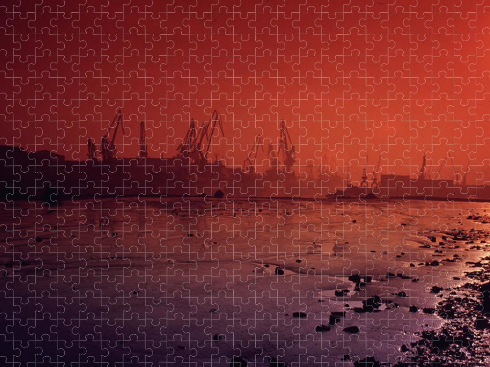 Scenics Puzzle featuring the photograph Industry by By M. Dacosta