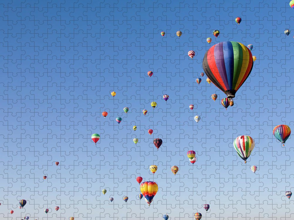 Event Puzzle featuring the photograph International Balloon Fiesta by Prmoeller