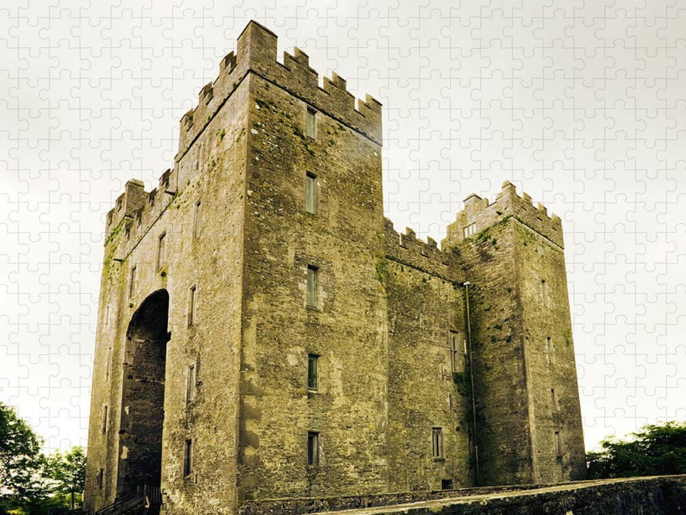 Bunratty Castle Puzzle featuring the photograph Ireland Bunratty Castle In County by Alantobey
