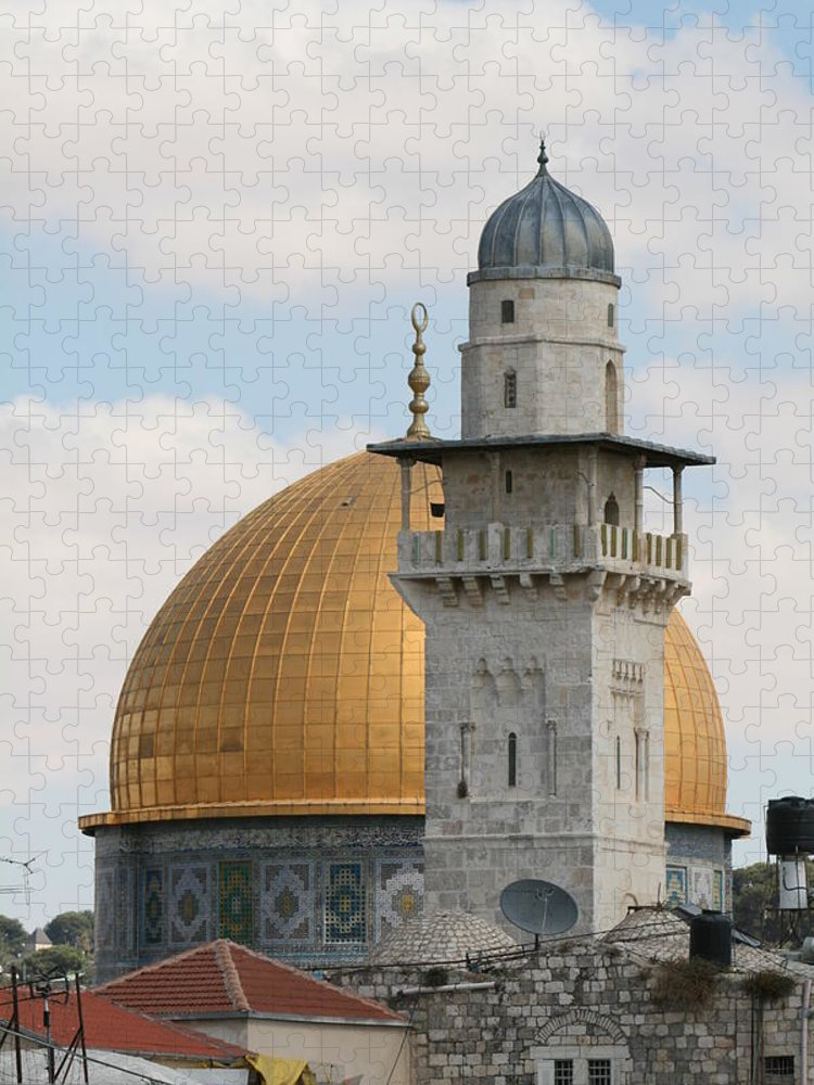 Arch Puzzle featuring the photograph Jerusalem by Yelena Strokin