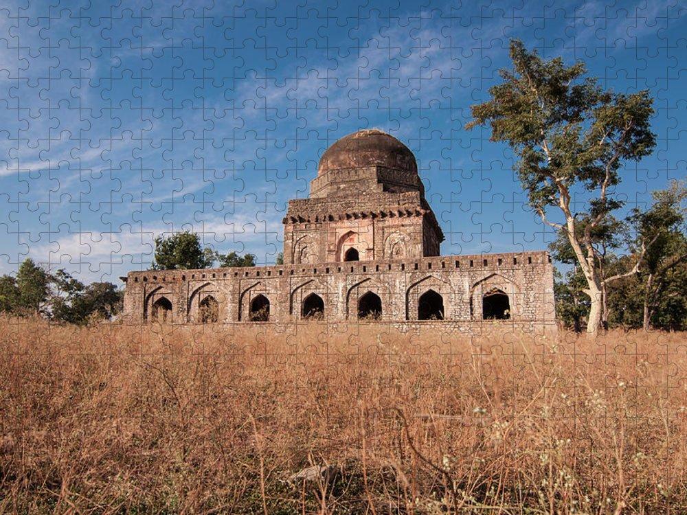Built Structure Puzzle featuring the photograph Mandu, Mandav by Saurabh