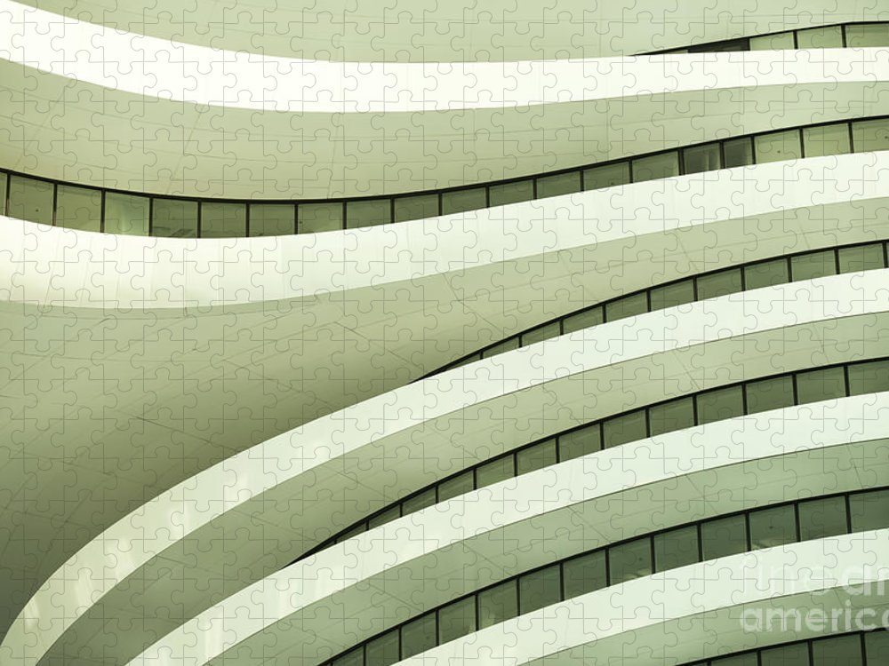 Arch Puzzle featuring the photograph Modern Architecture by Phototalk