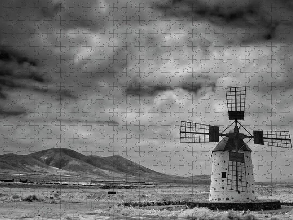 Tranquility Puzzle featuring the photograph Molino De Cotillo by Martin Zalba