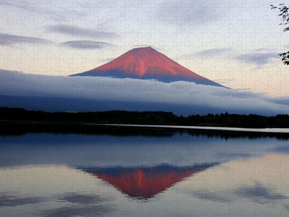 Scenics Puzzle featuring the photograph Mount Fuji by Japan From My Eyes