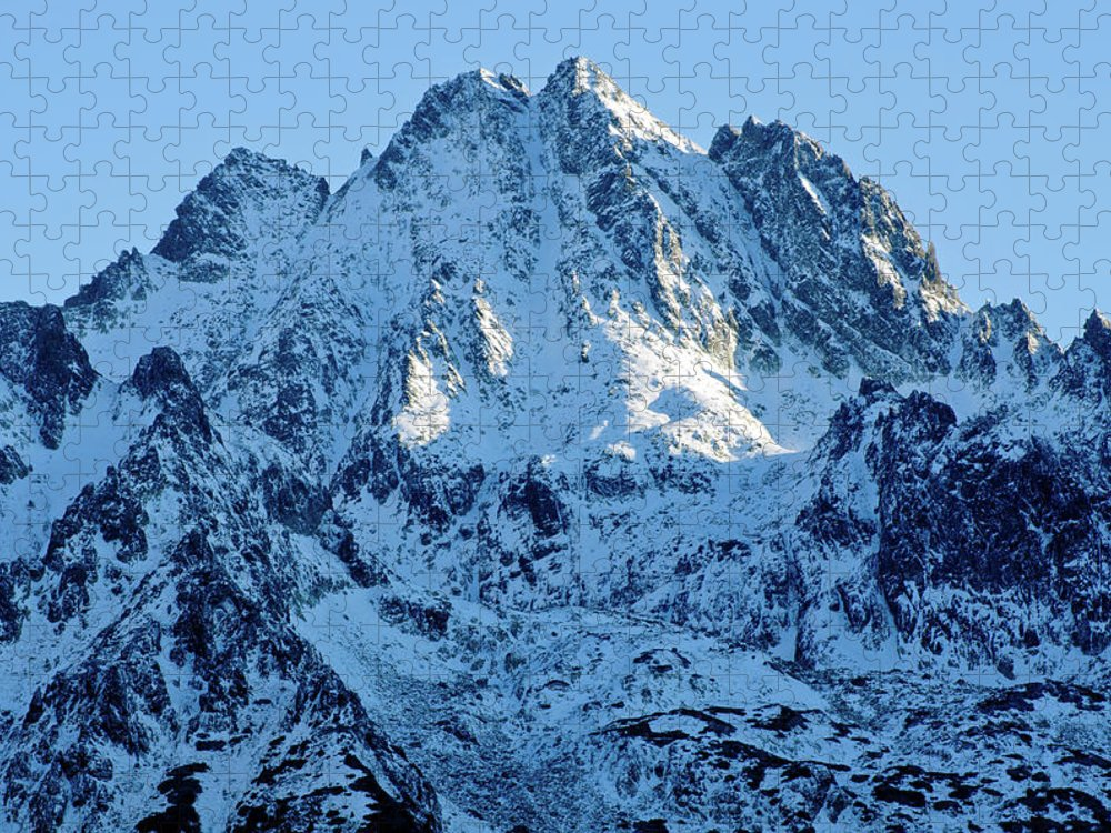 Scenics Puzzle featuring the photograph Mountain by Yorkfoto
