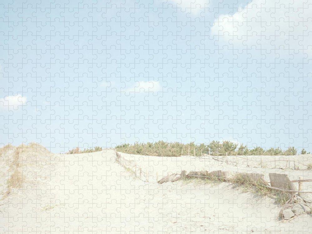 Scenics Puzzle featuring the photograph Nakatajima Sand Dunes by Haribote.nobody