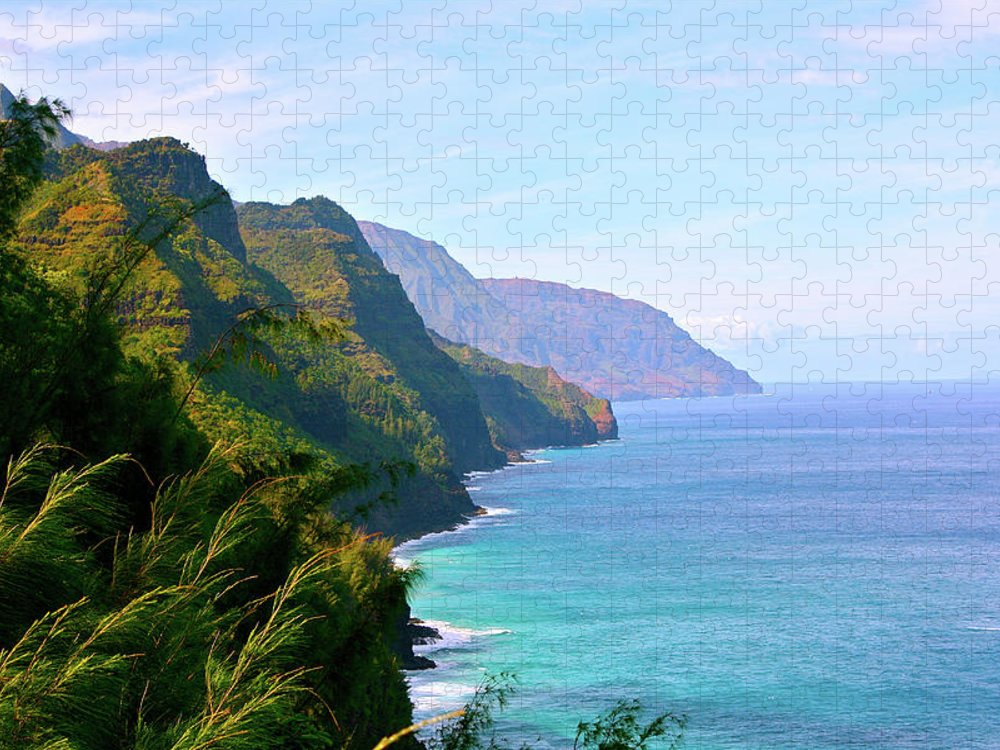 Nā Pali Coast State Park Puzzle featuring the photograph Napali by Sean M. Murphy Photography