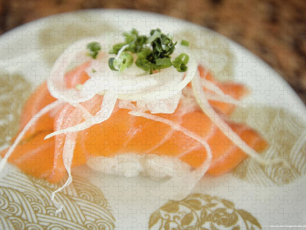 Japanese Food Puzzle featuring the photograph Nigiri by Lightnmotion