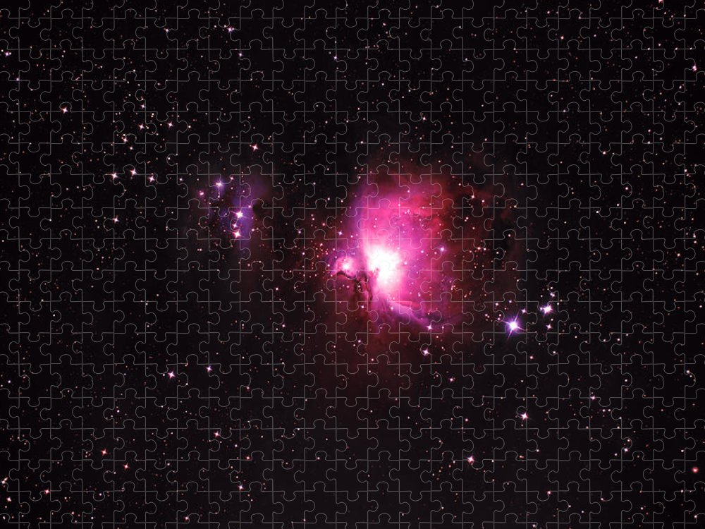 Natural Gas Puzzle featuring the photograph Orion Nebula by Plefevre
