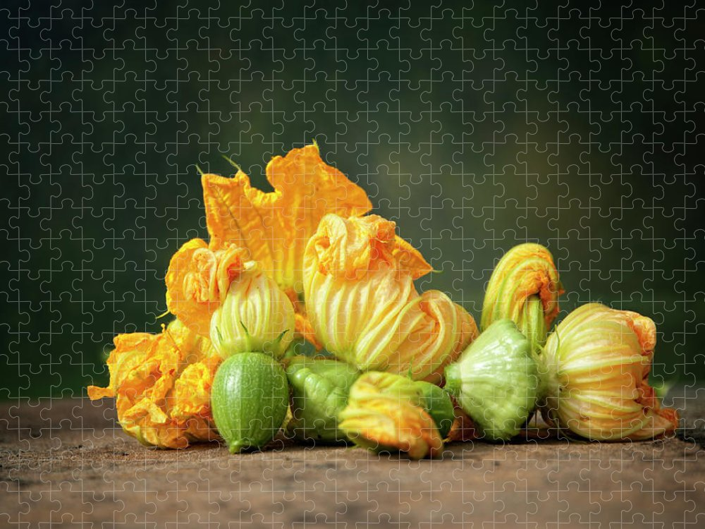 Healthy Eating Puzzle featuring the photograph Patty Pans by Jojo1 Photography