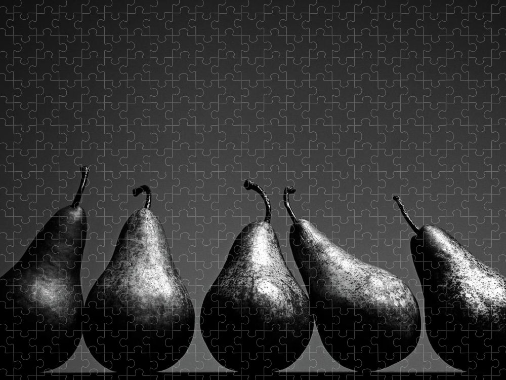 Five Objects Puzzle featuring the photograph Pears by Eddie O'bryan