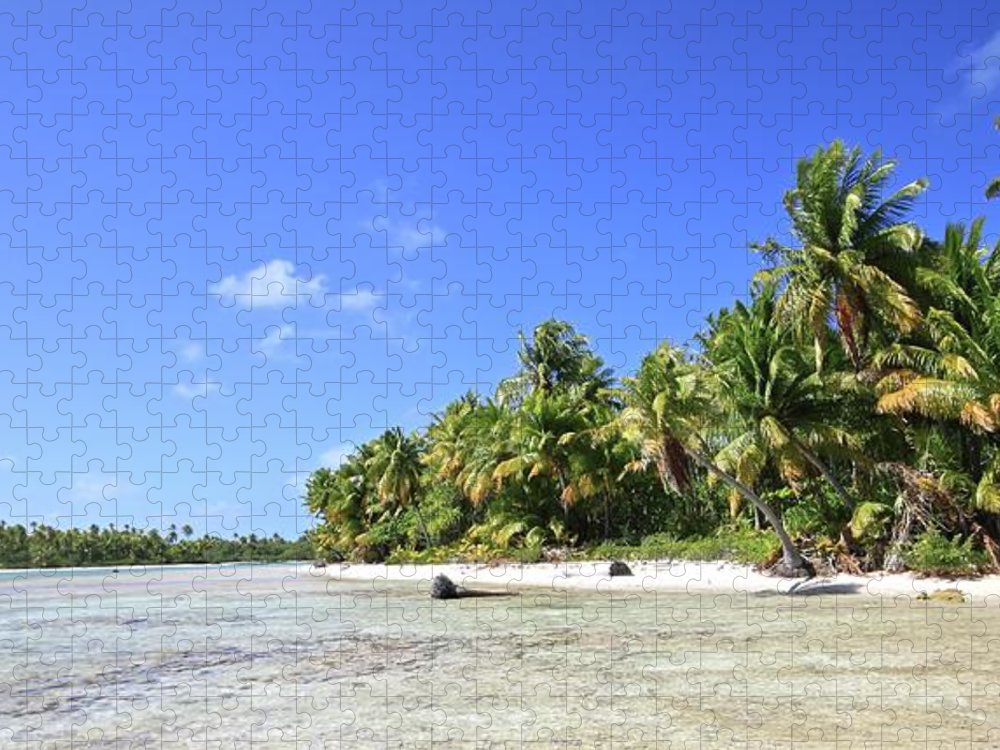 Tranquility Puzzle featuring the photograph Rangiroa - Isola Dei Coralli - Reef Isl by Loving And Living In This Planet