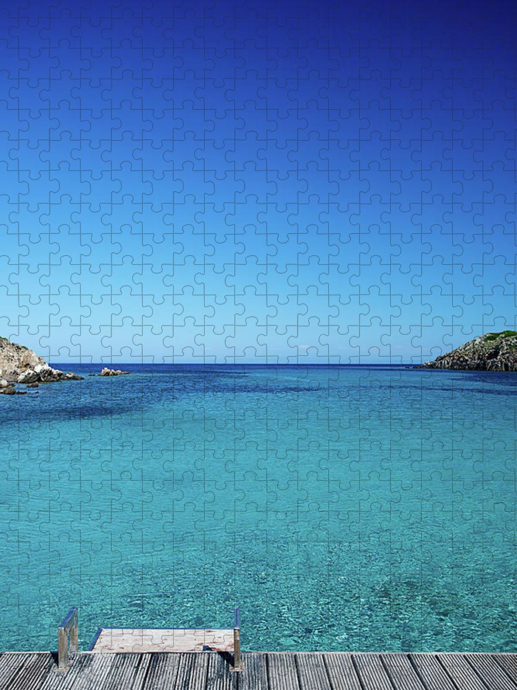 Scenics Puzzle featuring the photograph Sea by Cactusoup