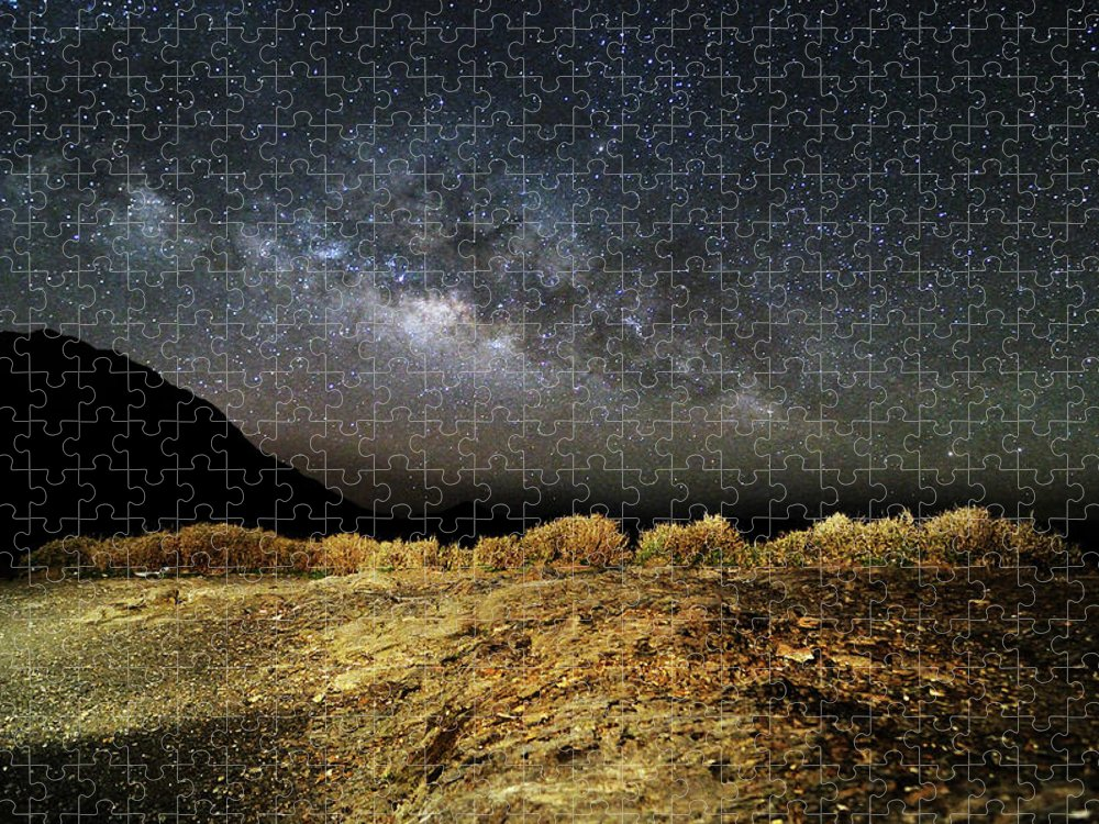 Scenics Puzzle featuring the photograph Space by Copyright Of Eason Lin Ladaga