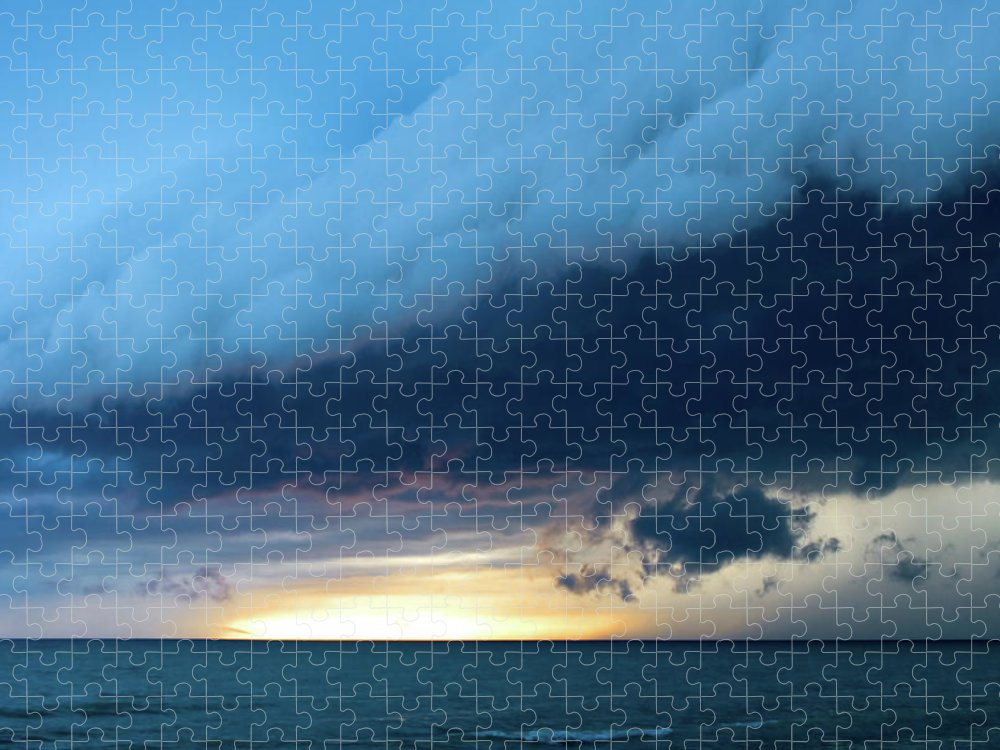 Water's Edge Puzzle featuring the photograph Storm Cell by Djphotography
