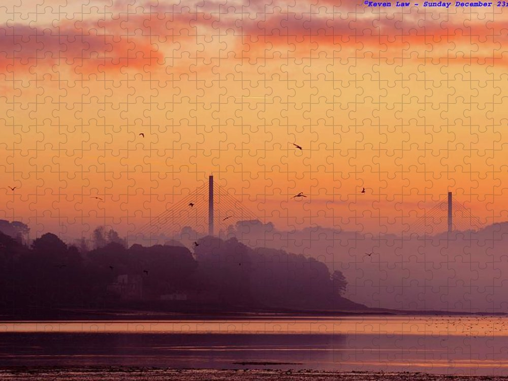 Scenics Puzzle featuring the photograph Sunrise by All Images Taken By Keven Law Of London, England.
