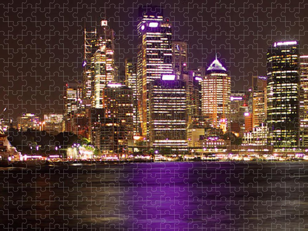 Panoramic Puzzle featuring the photograph Sydney In Bronze by Capturing The Beauty Around Us, One Chapter At A Time...