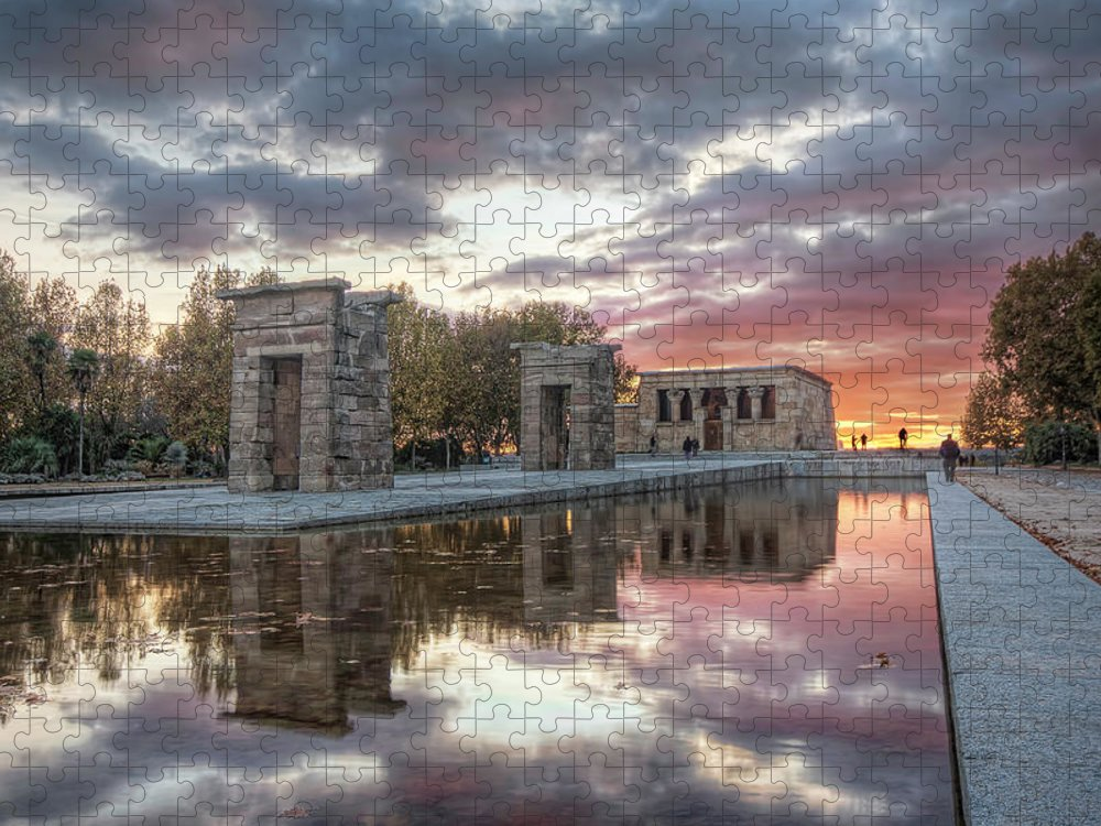 Arch Puzzle featuring the photograph The Twilight Of The Gods by Servalpe
