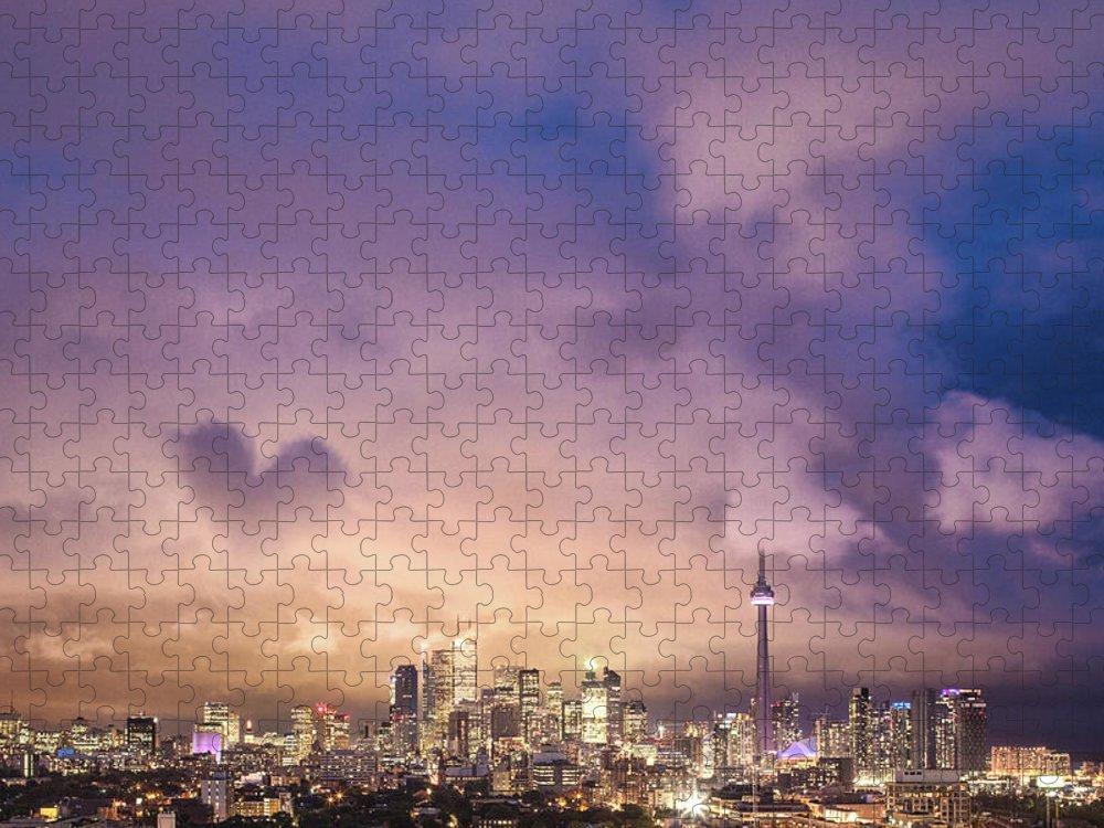 Toronto Puzzle featuring the photograph Toronto Love by Richard Gottardo - Info@richardgottardo.com