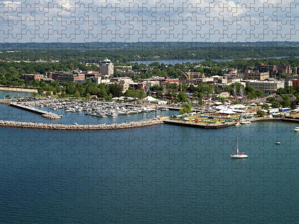 Lake Michigan Puzzle featuring the photograph Traverse City, Michigan by Ct757fan