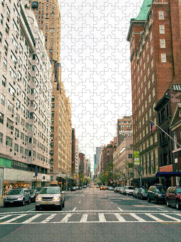 Outdoors Puzzle featuring the photograph Upper East Side, New York City by William Andrew