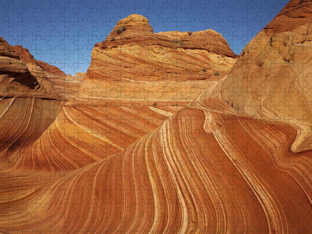 Toughness Puzzle featuring the photograph Wave, Paria Canyon by © Vadim Balakin