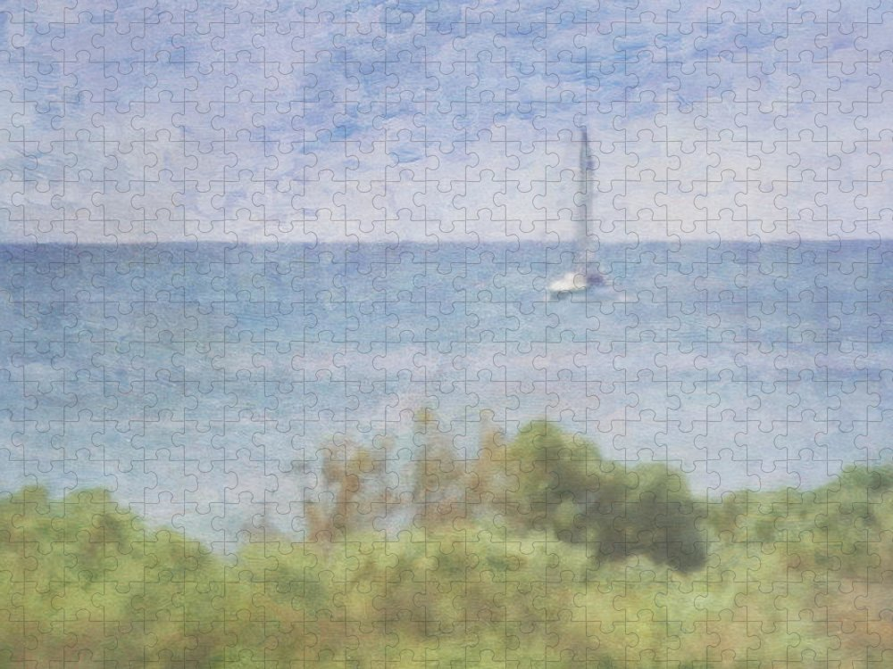 Tranquility Puzzle featuring the photograph When Your Boat Comes In by Craig Hewson