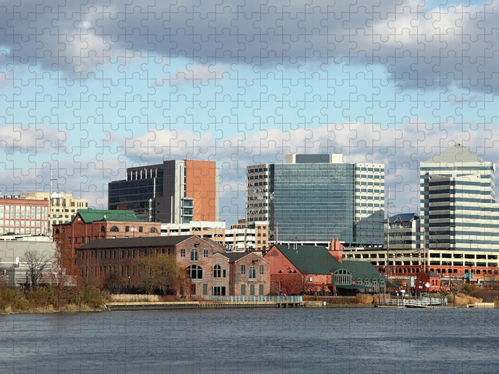 Delaware Puzzle featuring the photograph Wilmington Delaware by Denistangneyjr