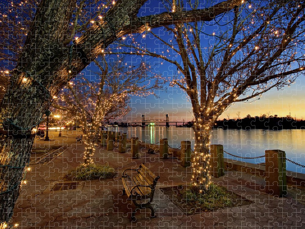 Tranquility Puzzle featuring the photograph Wilmington by Sam Antonio Photography