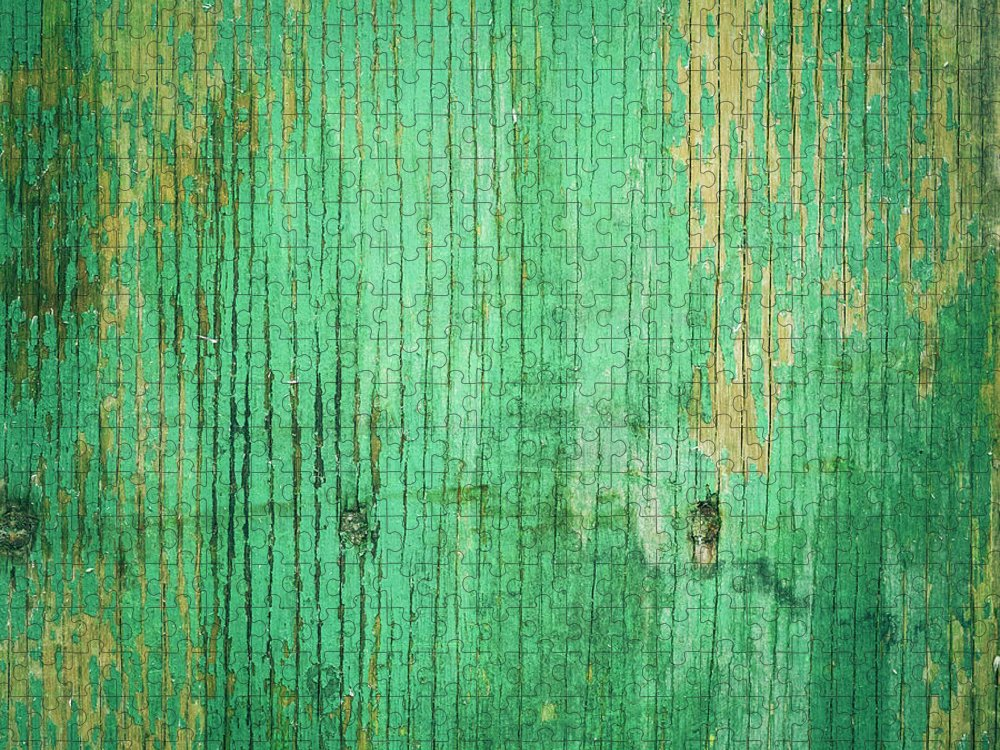 Unhygienic Puzzle featuring the photograph Wooden Texture by Thepalmer