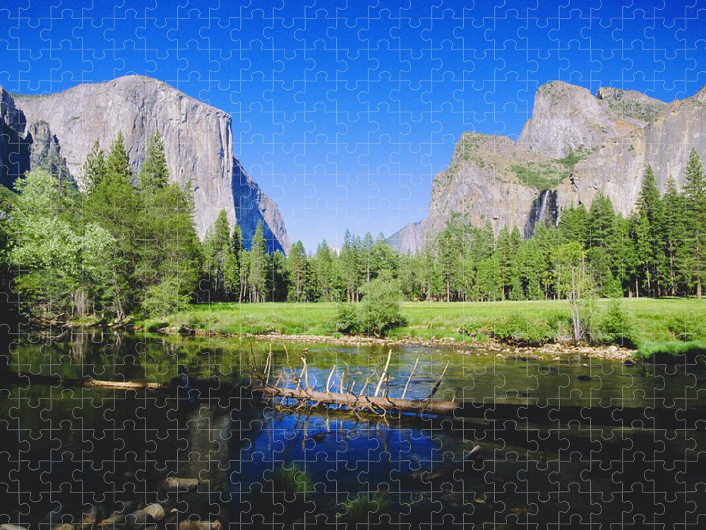 Scenics Puzzle featuring the photograph Yosemite National Park, California, Usa by Neil Emmerson / Robertharding