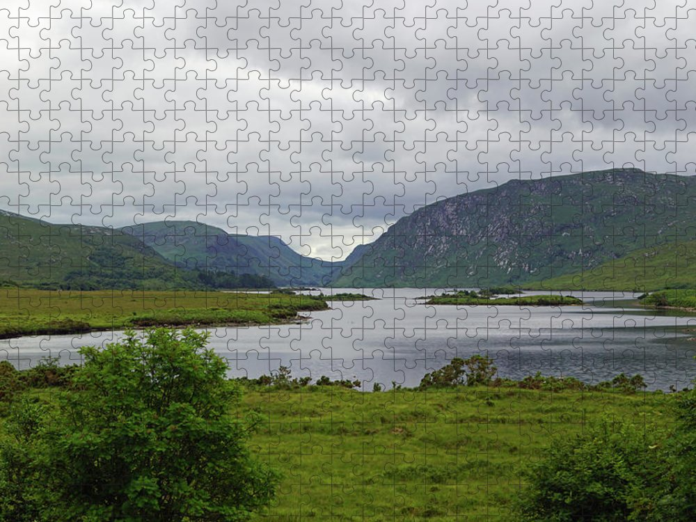 Mountain Puzzle featuring the photograph Glenveagh National Park by Babett Paul