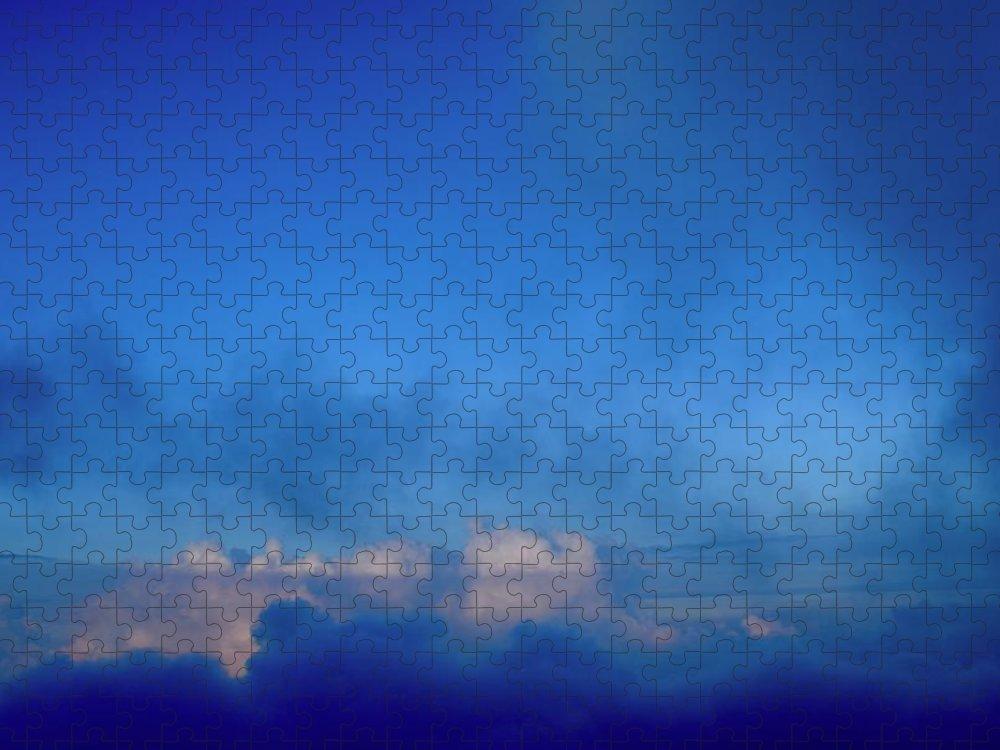 Aloha Puzzle featuring the photograph Haleakala Summit, Maui - II by Bnte Creations