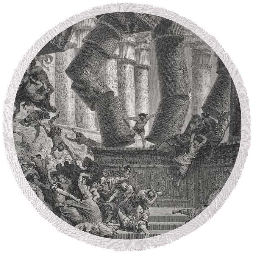 Designs Similar to Death Of Samson by Gustave Dore