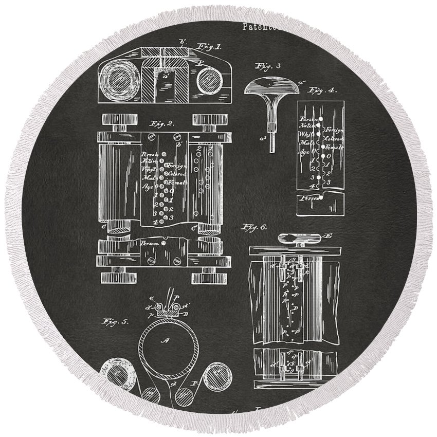 Designs Similar to 1889 First Computer Patent Gray