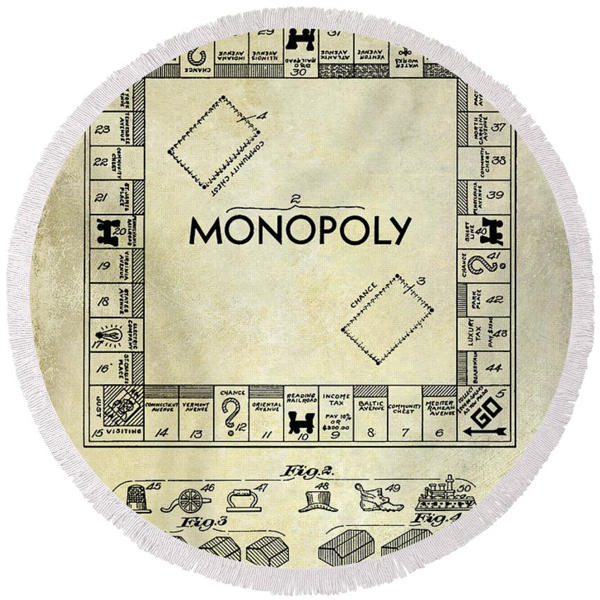 Designs Similar to 1935 Monopoly Patent Drawing