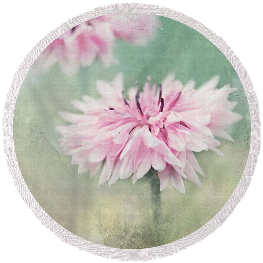 Summer Meadow Round Beach Towel featuring the photograph Still Life by Heike Hultsch