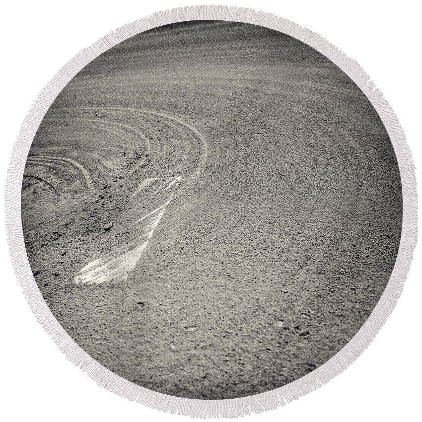 Cal Ripkin Round Beach Towel featuring the photograph Baseball Field 15 by YoPedro