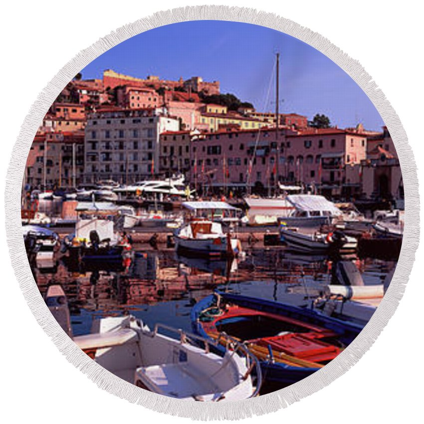Portoferraio Round Beach Towels