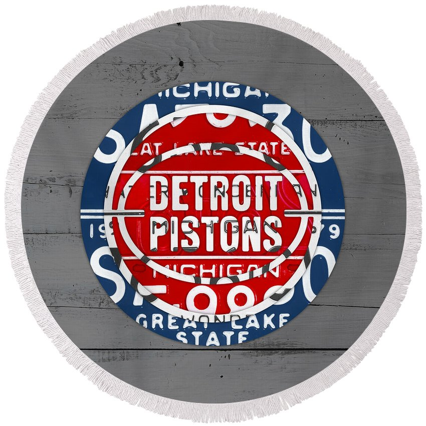 Detroit Pistons Beach Products