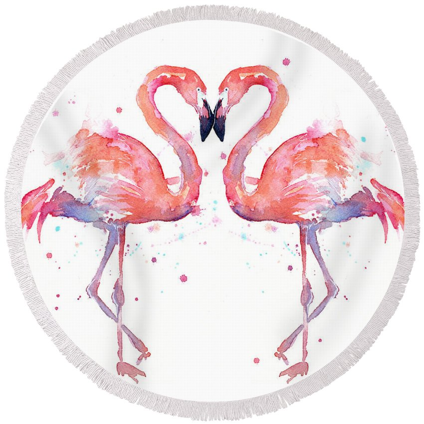 Designs Similar to Flamingo Love Watercolor