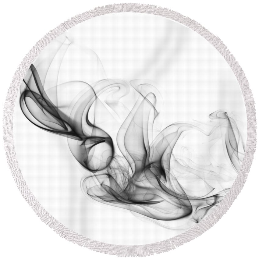 Sofa Round Beach Towel featuring the photograph Fluidity No. 2 by Andrew Giovinazzo