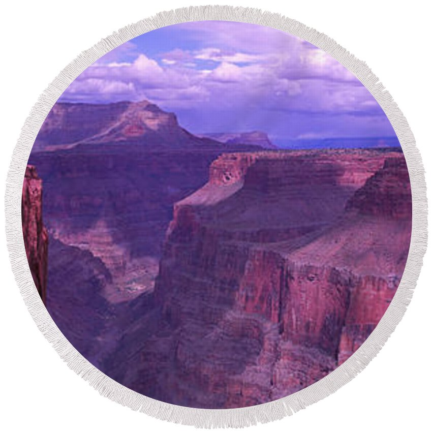 Grand Canyon Round Beach Towels