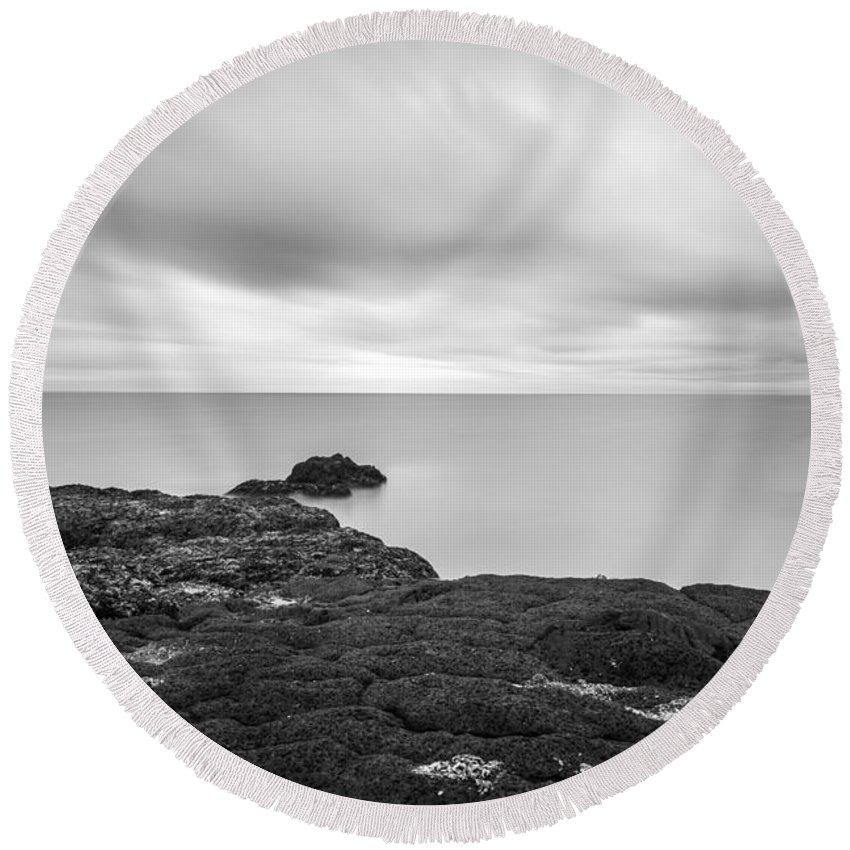 Peace Round Beach Towel featuring the photograph Iceland Tranquility 01 by Gunnar Orn Arnason