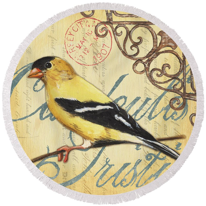 American Goldfinch Beach Products