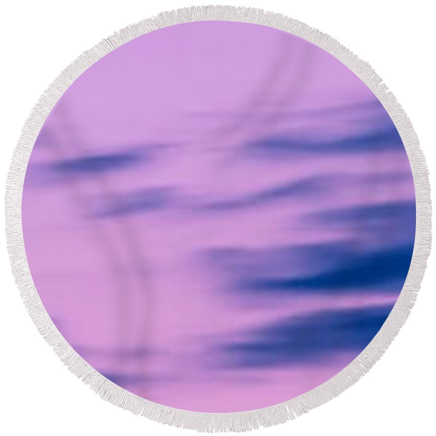 Sky Round Beach Towel featuring the photograph Sky 005 by Agustin Uzarraga