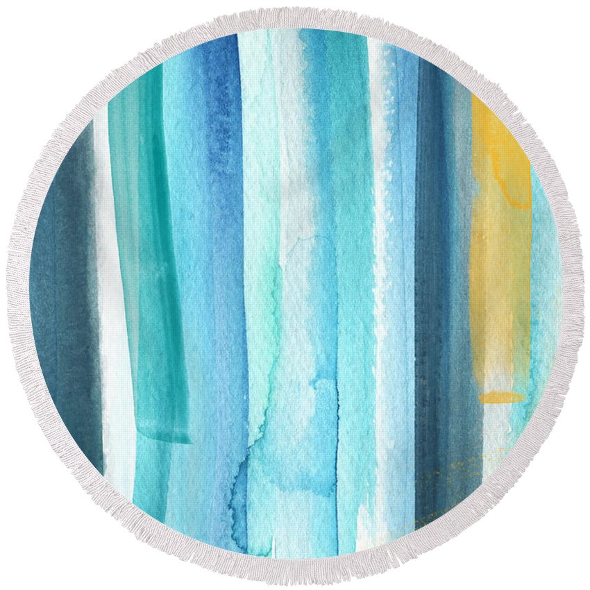 Decorative Round Beach Towels