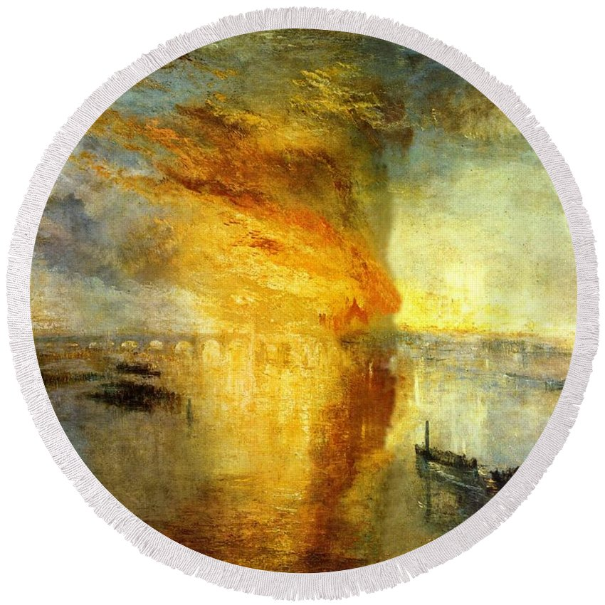 Turner Burning of the Houses of Lords /& Commons fine art print various sizes